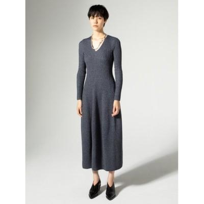 (styling//スタイリング)コクーンニットドレス/レディース NVY