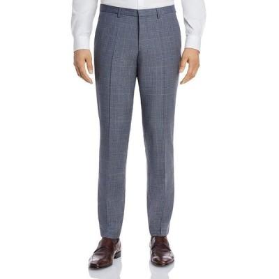 フューゴ メンズ カジュアルパンツ ボトムス Hesten Tonal Plaid Extra Slim Fit Suit Pants