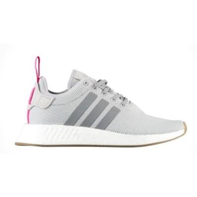 アディダス オリジナルス レディース adidas Originals NMD R2 シューズ スニーカー Grey/Grey/Shock Pink