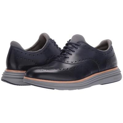 コールハーン Cole Haan メンズ スニーカー シューズ・靴 Original Grand Ultra Wing Ox Marine Blue Leather/Sleet