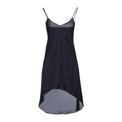 ピンコ PINKO ミニワンピース&ドレス ダークブルー 40 ポリエステル 100% ミニワンピース&ドレス
