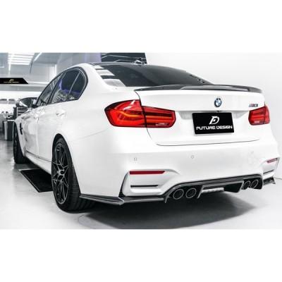 BMW F80 M3 リアバンパー用カーボンディフューザー DryCarbon 本物ドライカーボン EOGT