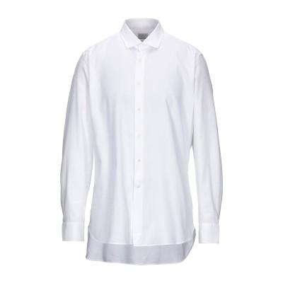 バグッタ BAGUTTA シャツ ホワイト 44 コットン 100% シャツ