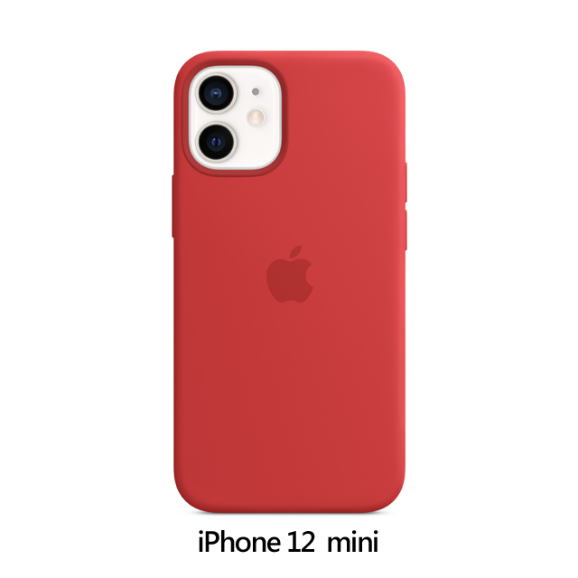 iPhone 12 mini MagSafe 矽膠保護殼 - (PRODUCT)RED (MHKW3FE/A)