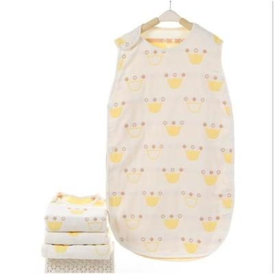 スリーパー ベビー 赤ちゃん 寝袋 6重ガーゼ 女の子 男の子 オーガニック 柔らかく お昼寝 寝冷え防止 通気性 新生児0-3歳まで 出産お祝い ギフト
