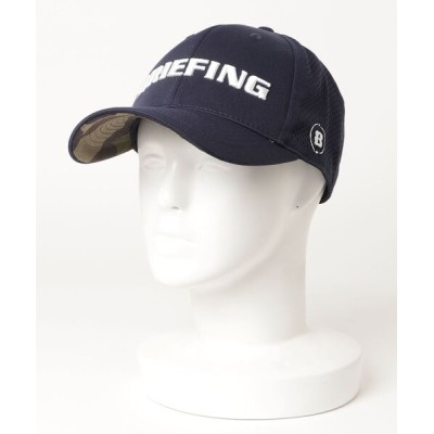 BRIEFING / MENS PUNCHING MESH CURVED VISOR CAP MEN 帽子 > キャップ