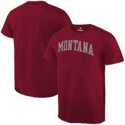 Fanatics Branded ファナティクス ブランド スポーツ用品  Fanatics Branded Montana Grizzlies Maroon Basic Arch Exp
