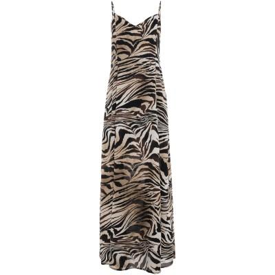 ノリータ NOLITA ロングワンピース&ドレス サンド 42 ポリエステル 100% ロングワンピース&ドレス
