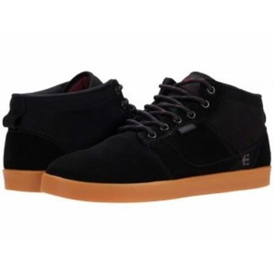 Etnies エトニーズ メンズ 男性用 シューズ 靴 スニーカー 運動靴 Jefferson Mid Black/Gum【送料無料】