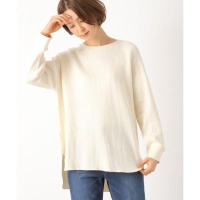 tシャツ Tシャツ リバーハリヌキリブチュニック 862250