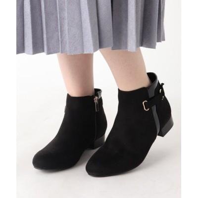 ESPERANZA / サイドベルトショートジョッキーブーツ WOMEN シューズ > ブーツ