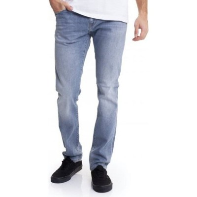 カーハート Carhartt WIP メンズ ジーンズ・デニム ボトムス・パンツ - Rebel Blue Worn Bleached - Jeans blue