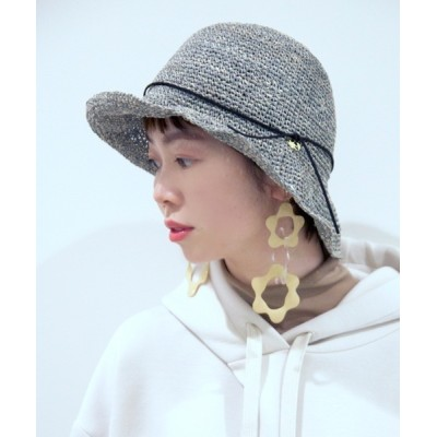polcadot / チャーム付きペーパー ワイヤーハット WOMEN 帽子 > ハット