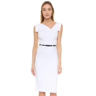 ブラックハロー Black Halo レディース ワンピース ワンピース・ドレス Jackie O Belted Dress White