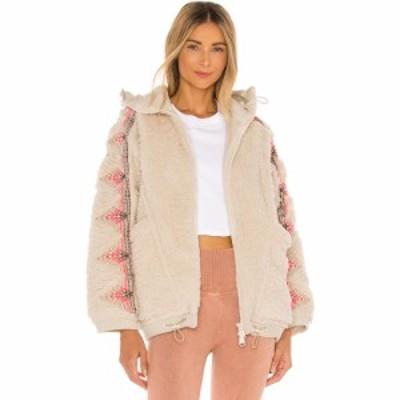 フリーピープル Free People レディース ジャケット アウター X Fp Movement Lodge Livin Jacket Natural/Pink Combo