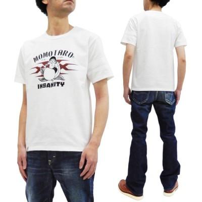 桃太郎ジーンズ xXx トリプルX コラボTシャツ Momotaro Jeans 半袖Tシャツ 出陣ライン 03XXX ホワイト 新品