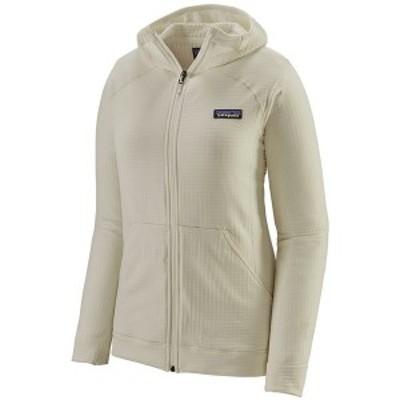 パタゴニア レディース ジャケット・ブルゾン アウター Patagonia R1R Full-Zip Hoodie - Women's Birch White