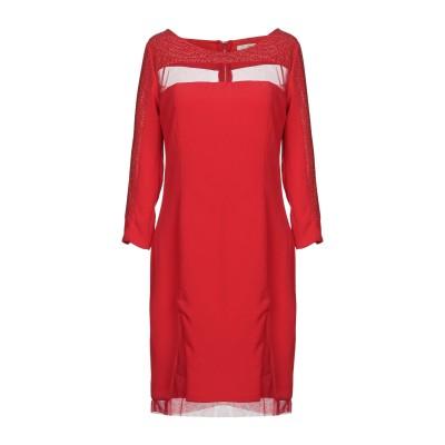 レリッシュ RELISH ミニワンピース&ドレス レッド 44 ポリエステル 97% / ポリウレタン 3% ミニワンピース&ドレス