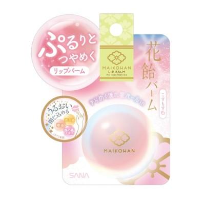 【アットコスメショッピング/@cosme SHOPPING】 舞妓はん 花飴バーム 【02】こすもす色(ピンクベースでキラキラ感UP) こんぺい糖のかほり
