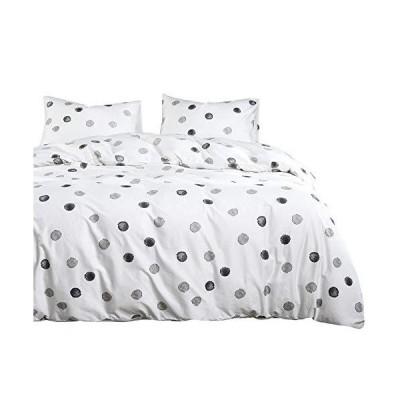 """Wake In Cloud 掛け布団3点セット Queen comforter 90""""x90"""" B0408BZ3250QM"""