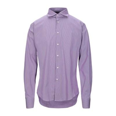 ブライアン デールズ BRIAN DALES シャツ ライトパープル 42 コットン 100% シャツ