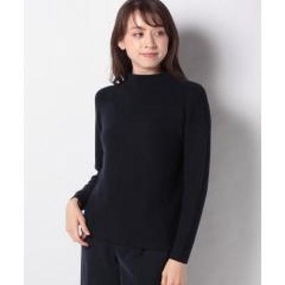 Leilian(レリアン)ラグランボトルネックセーター