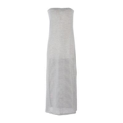 メルシー ..,MERCI 7分丈ワンピース・ドレス ブラック XS 100% コットン 7分丈ワンピース・ドレス
