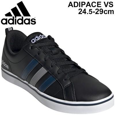 スニーカー メンズ コートスタイル シューズ アディダス adidas アディペース ADIPACE VS M/コートシューズ ブラック 黒 CFO64  ローカット   /FY8559
