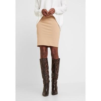 カフェ スカート レディース ボトムス PENNY  - Pencil skirt - tannin