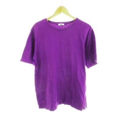【中古】コエ koe Tシャツ カットソー 半袖 無地 F 紫 パープル /CK レディース 【ベクトル 古着】