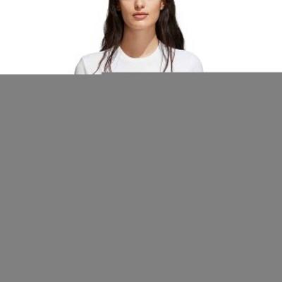 アディダス レディース シャツ トップス adidas Originals Women's Trefoil T-Shirt White