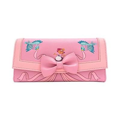 【平行輸入品】 ラウンジフライ シンデレラ 70周年記念ドレス フラップ財布