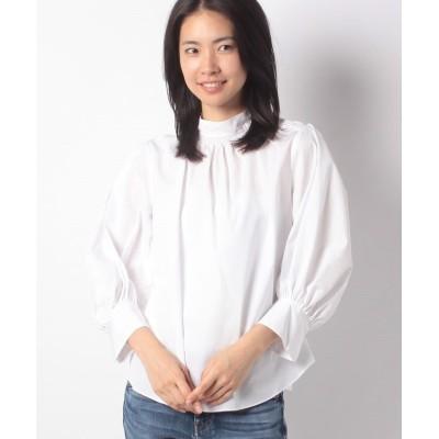 (BRAHMIN/ブラーミン)コットンデザインシャツB16405/レディース ホワイト系