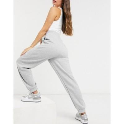 エイソス レディース カジュアルパンツ ボトムス ASOS DESIGN super oversized sweatpants in gray marl