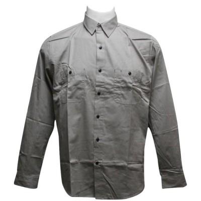 ハフ HUF メンズ シャツ トップス Work Shirt grey