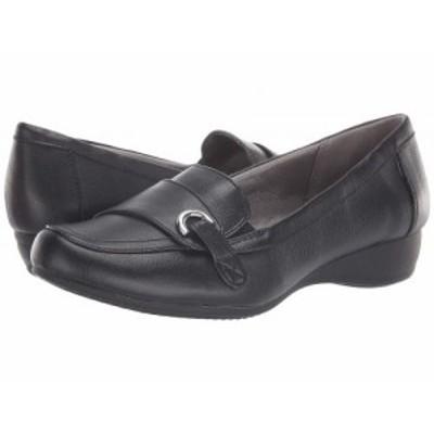 LifeStride ライフストライド レディース 女性用 シューズ 靴 ローファー ボートシューズ Detroit Black【送料無料】