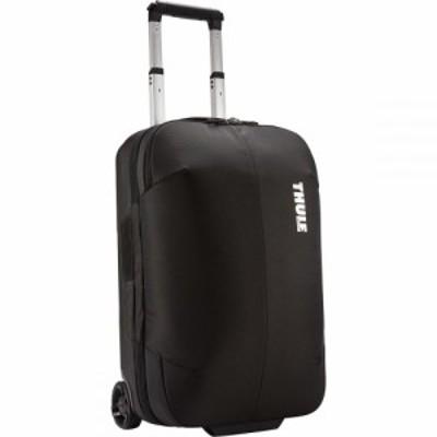 スーリー Thule レディース スーツケース・キャリーバッグ ギアバッグ バッグ Subterra Carry - On 22in Rolling Gear Bag Black