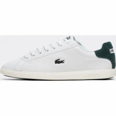ラコステ Lacoste メンズ スニーカー シューズ・靴 Graduate 319 2 SMA Trainer White/Dark Green