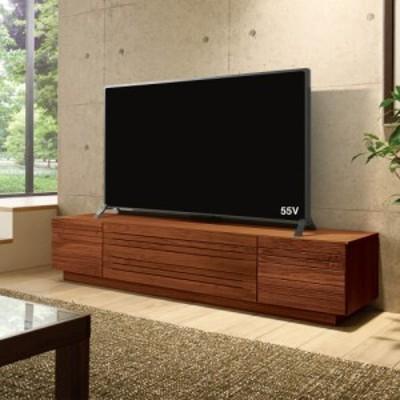 家具 収納 リビング収納 テレビ台 テレビボード 天然木無垢材のテレビ台 ウォルナット天然木 幅150cm 571202