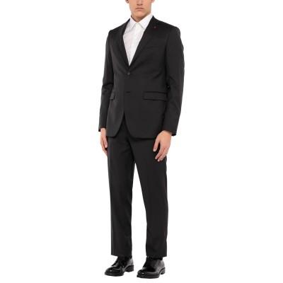 LEBOLE スーツ スチールグレー 50 バージンウール 100% スーツ
