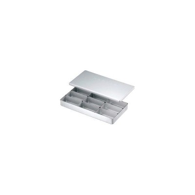 AKV16 アルミ検食容器 C型(飲食店用) C-9 :_