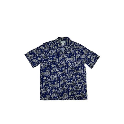TWO PALMS アロハシャツ メンズ 501R Hook navy