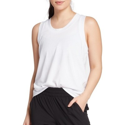 カリア シャツ トップス レディース CALIA by Carrie Underwood Women's Everyday Muscle Tank Top PureWhite