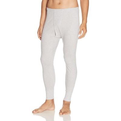 [グンゼ] 長ズボン下 快適工房 年間 綿100% KH3002 メンズ グレーモク 日本M (日本サイズM相当)