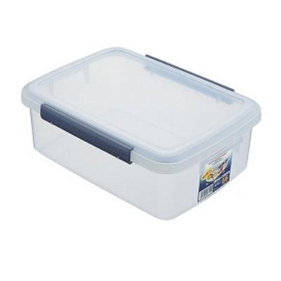 保存容器 ユニックス ウィル キッチンボックス 5.6L ネイビー F-30 | プラスチック 大容量 大きめ 密封 食品