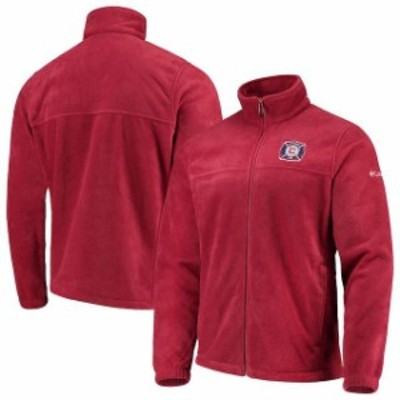 Columbia コロンビア スポーツ用品  Columbia Chicago Fire Red Flanker Full-Zip Jacket