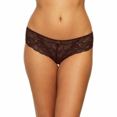 モンテル インティメイツ MONTELLE INTIMATES レディース ショーツのみ インナー・下着 Brazilian Lace Panties Cocoa