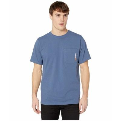 ティンバーランド シャツ トップス メンズ Base Plate Blended Short Sleeve T-Shirt Vintage Indigo