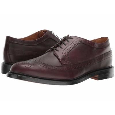 ボストニアン オックスフォード シューズ メンズ No. 16 Longwing Burgundy Leather