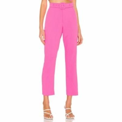 バルドー Bardot レディース ボトムス・パンツ Therese Buckle Pant Pink Pop